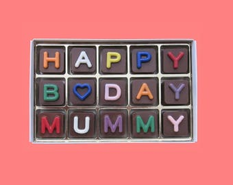 Mom Birthday Gift From Daughter Son 60th Mum 50th 70th Bday Mother In Law Jelly Bean Cube
