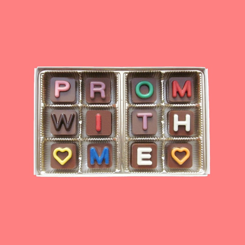 Prom Proposal Idea Prom With Me Gift For Her Prom Proposal Prom Invites Will You Go To Prom With Me Fun Way To Ask Homecoming Gift For Him