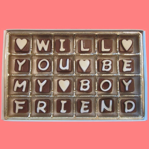 Will You Be My Boyfriend Valentines Day Gift For Men Creative Etsy