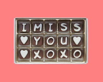 Best Friend Gift Friendship Gift Thinking of You Gift for BFF Gift Long Distance Friendship Gift Birthday Gift I Miss You XOXO Chocolate
