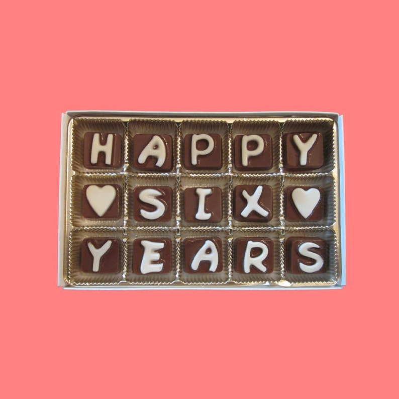 Sixth Wedding Anniversary Gift Husband Gift From Wife 6th Etsy