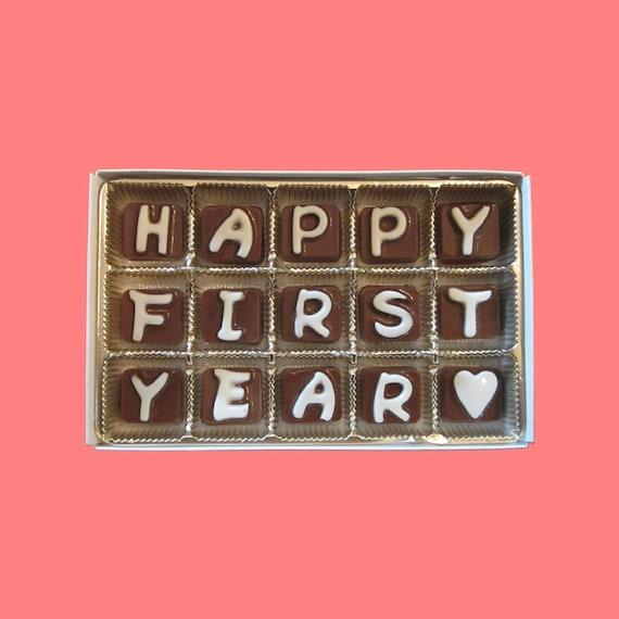 One Year Anniversary Gift For Girlfriend 1 Year Anniversary Etsy