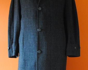 1950s Wool Overcoat sz M-L
