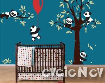 Custom Panda Wall Decals for Alicia