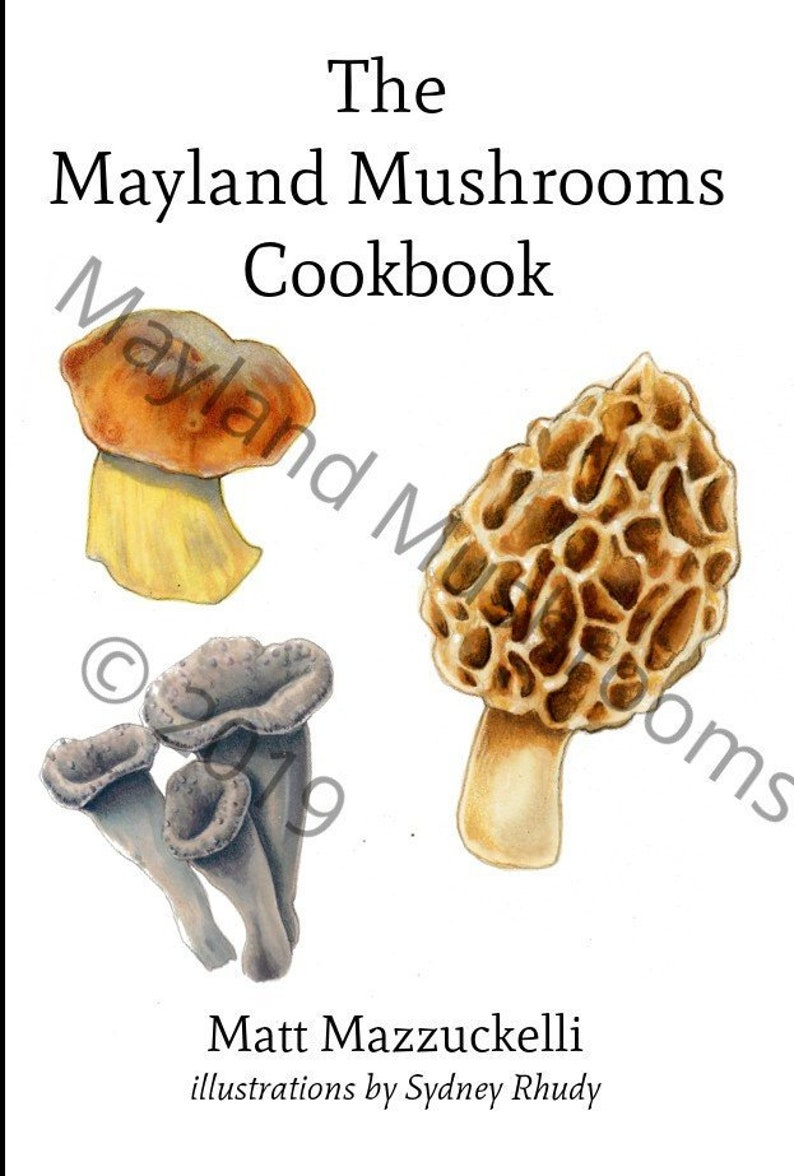 The Mayland Mushrooms Cookbook image 0