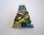 Green Christmas Tree Votive