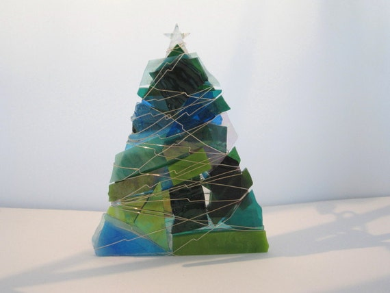 Items Similar To Blue, Turquoise And Sea Green Christmas