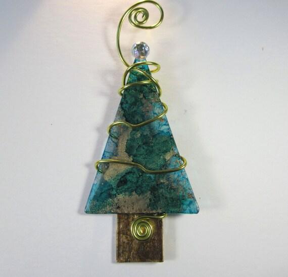 Sapphire Blue Christmas Tree Ornament Baby Yoda The Mandalorian