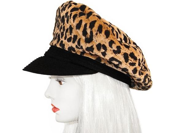 Vintage Leopard Hat, Mr. John Classic, Vintage 196