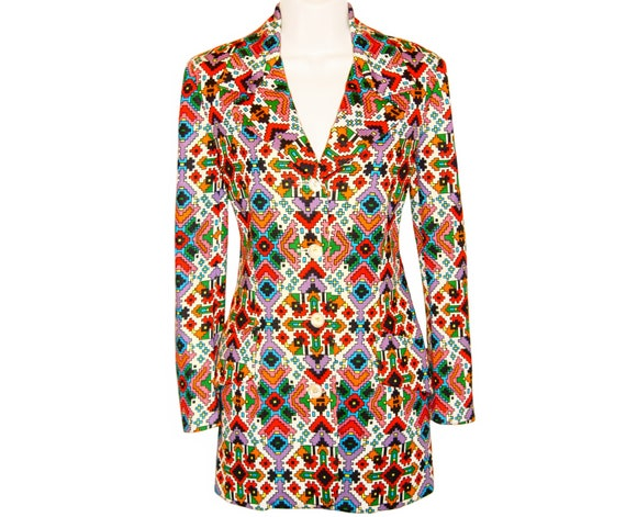 Beene Psychedelic 1960s Early Jacket 1970s Vintage Geoffrey Late to Print Navajo Rare pxdqSw1q