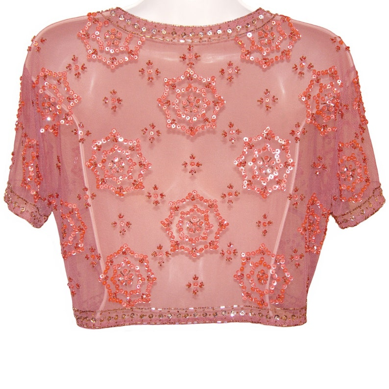 1930s Sequined Beaded Jacket French Art Deco