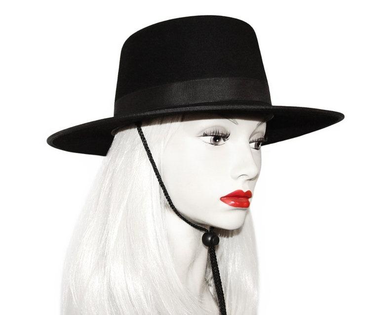 bd82003f55a4c Vintage Akubra Hat Bolero Hat Spanish Flamenco Style Rare | Etsy