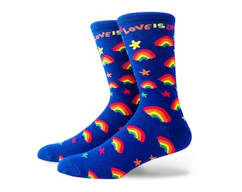 Love is Love Crew Socks Large