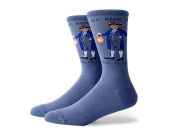 Paul Revere Crew Socks Medium
