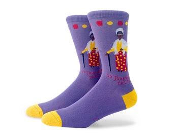 Sojourner Truth New Crew Socks Medium