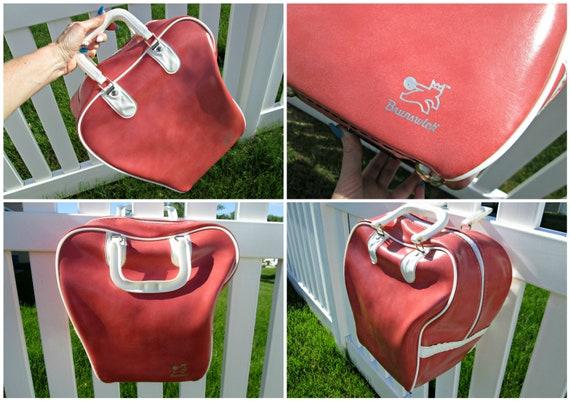 Vintage Bowling Bag | AMAZING! | Brunswick Salmon