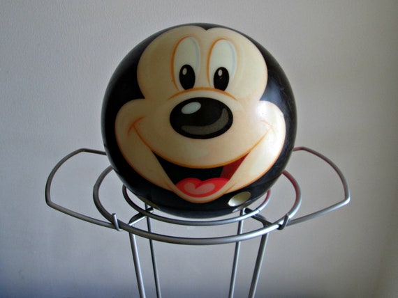 Vintage Mickey Mouse Bowling Ball