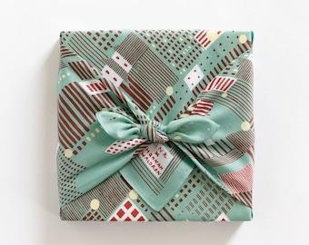 Tokyo Matcha Furoshiki & tea and sweets gift set