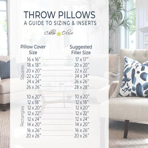 Brown Flax Ikat Sofa Throw Pillow Cover