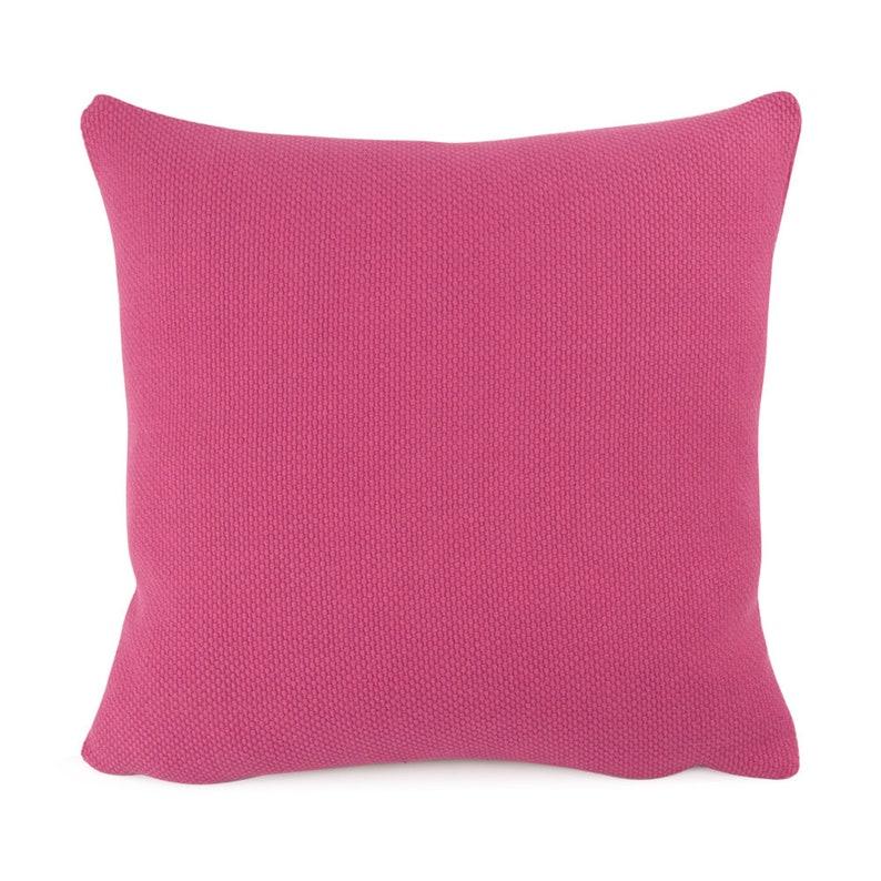 bf90f7cb14ad Dark Pink Knit Pillow Cover 18x18 20x20 22x22 Euro Sham or | Etsy