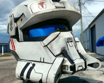 Ultimate Halo Reach EOD (Explosive Ordanance Disposal) Helmet Replica - Padded and Wearable - Fan Made & Ultimate Halo 4 Master Chief Helmet Replica Padded and