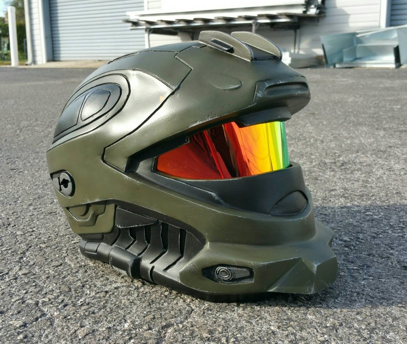 Halo Reach Recon Helmet Replica - LEDs - Wearable - Paintwork by Johnson  Arms Props - Fan Made