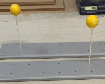 Two 16 Count Cake Pop Stands.  Custom Sizes and Shapes Available.