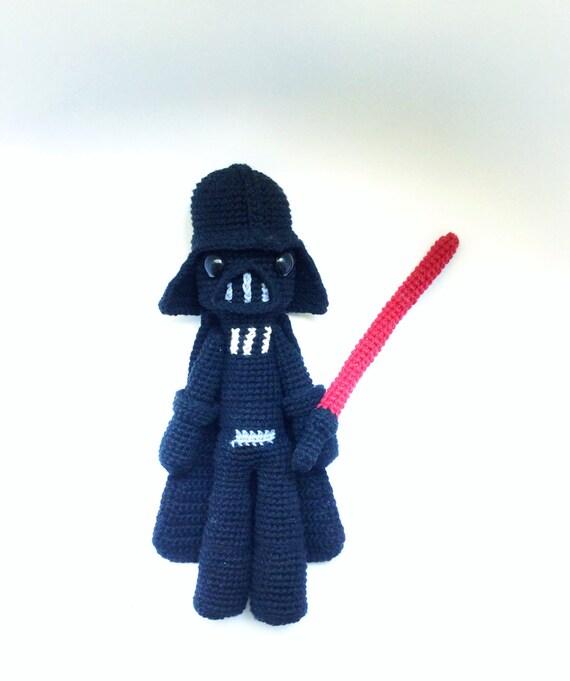 Darth Vader Patrón de Ganchillo / amigurumi | Etsy