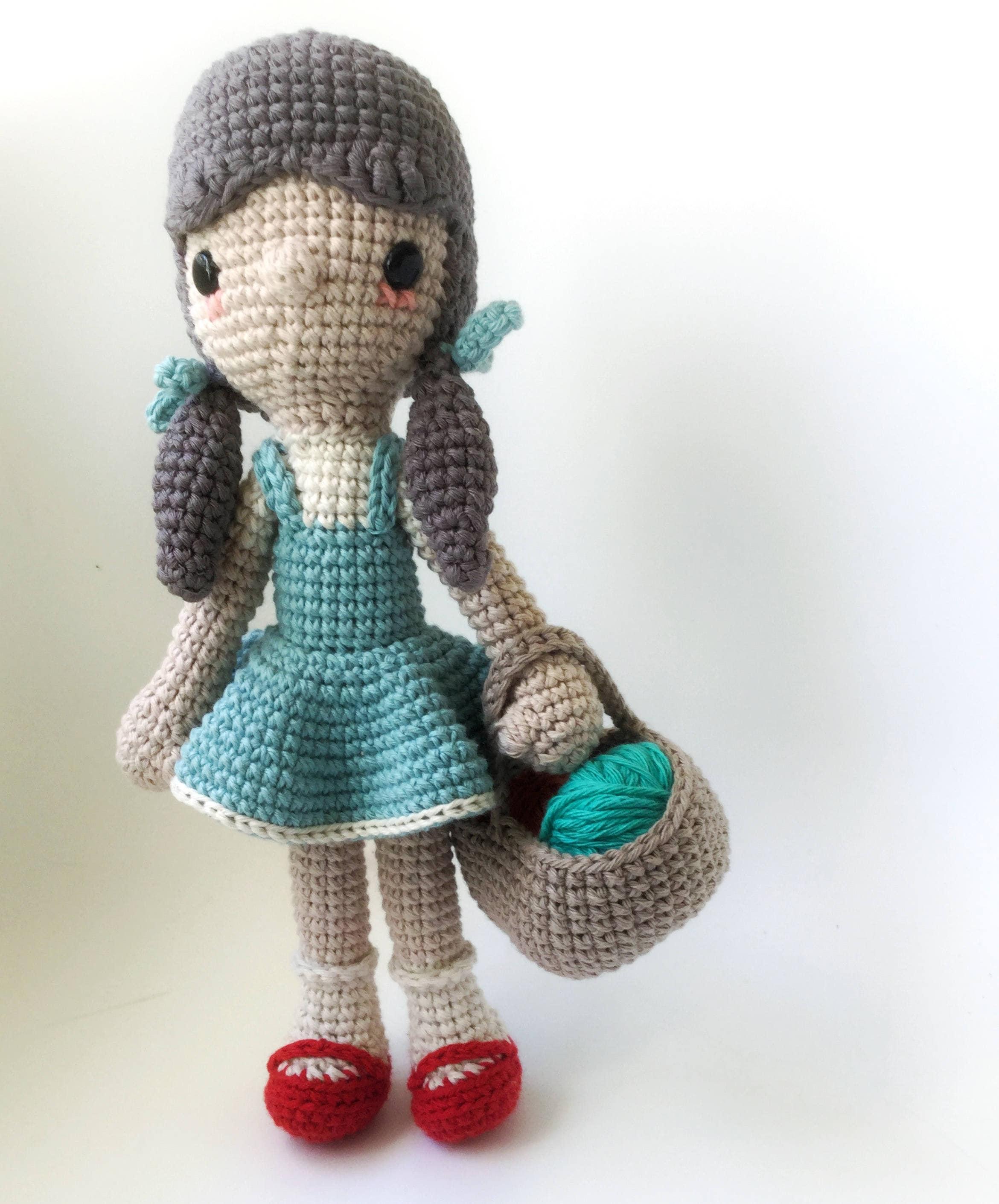 Dorothy El mago de Oz Patrón de Ganchillo/Amigurumi | Etsy