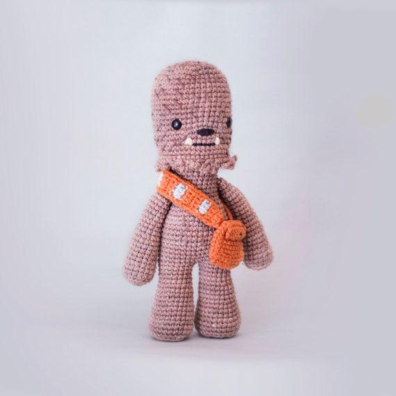 Chewbacca patrón de ganchillo/amigurumi | Etsy