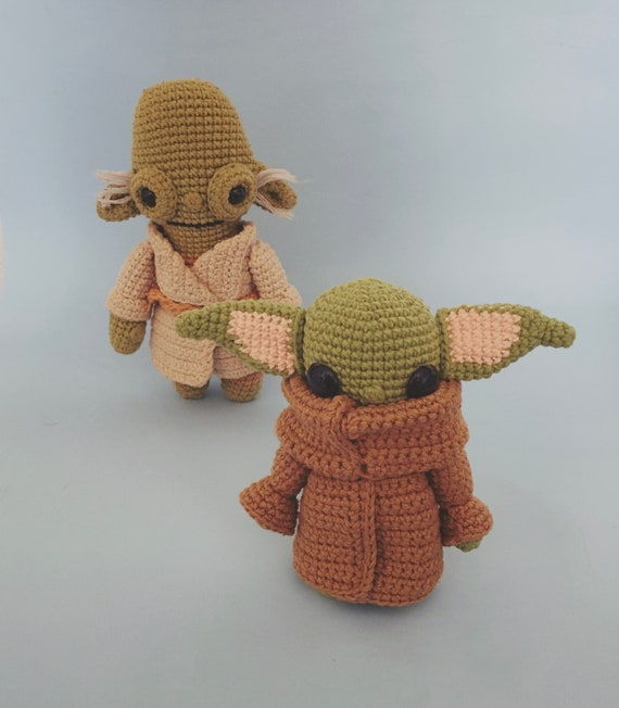 Yoda | Amigurumi | Acrylic, Cotton | Decoration, Others | Abejitas ... | 652x570