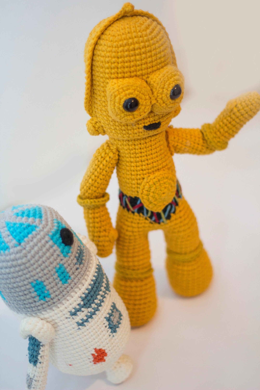 Star Wars C3po And R2d2 Crochet Patternamigurumi Etsy