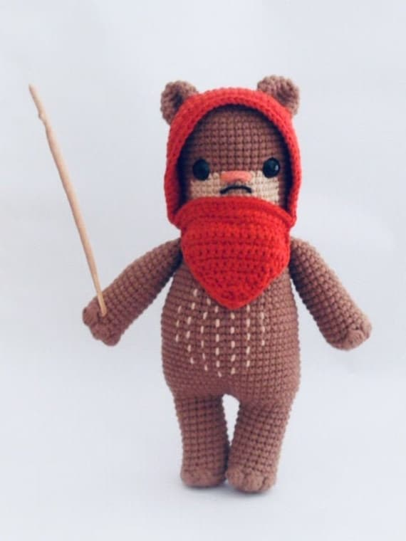 Ravelry: Wicket the Ewok pattern by Lucy Collin | 760x570