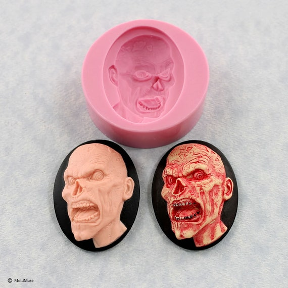 Beautiful silicone mold pink 30mm