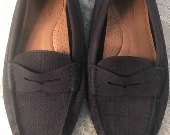 f2c41a174 Vintage Ralph Lauren Blue Loafers. Ralph Lauren Suede Loafers. Ralph Lauren.  Ralph Lauren Camilla. Womens Size 9
