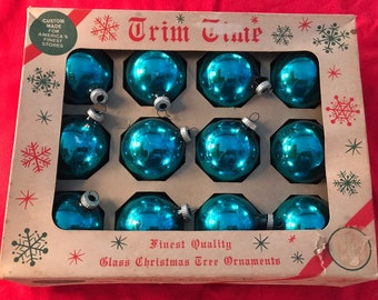 Glass ornaments usa   Etsy