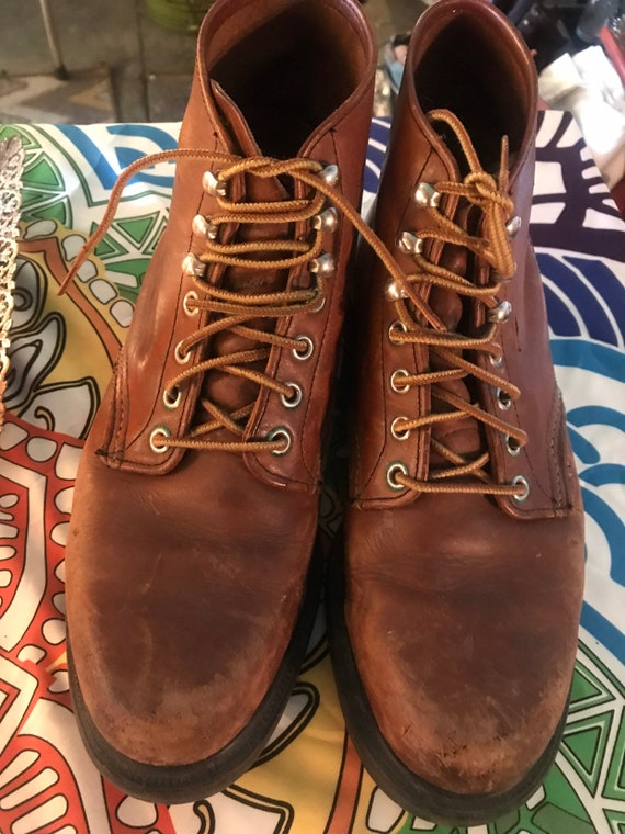 Vintage Red Wing Boots. Vintage Red Wing Ankle Boo