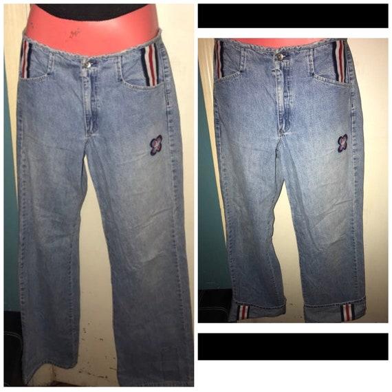 Vintage JNCO Jeans. 90's JNCO Trip Hop Jeans. Girl