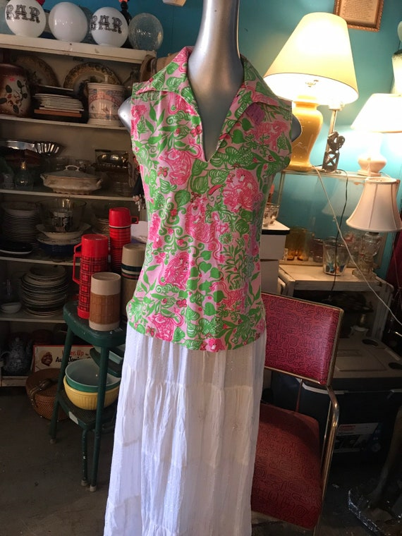 Vintage Lilly Pulitzer Shirt. Lilly Pulitzer. The