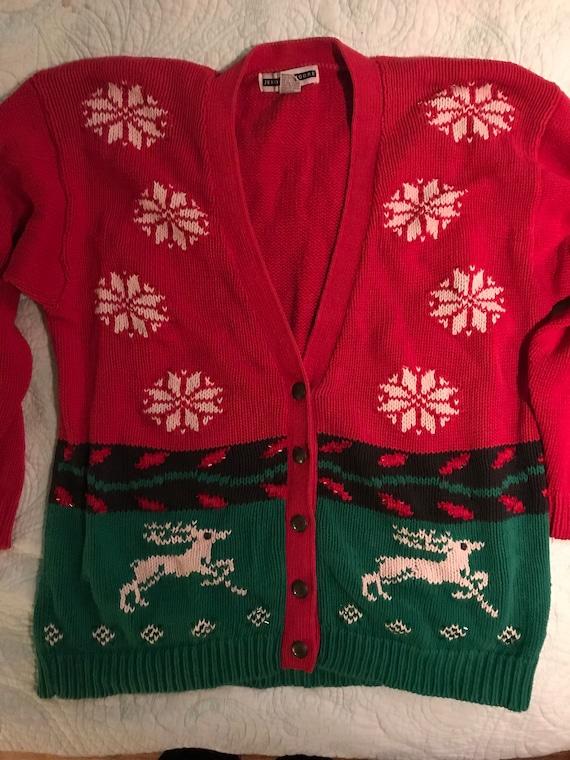 Ugly Christmas Sweater. Vintage Ugly Christmas Sweater. Christmas Sweater.  Ugly Christmas Sweater Party
