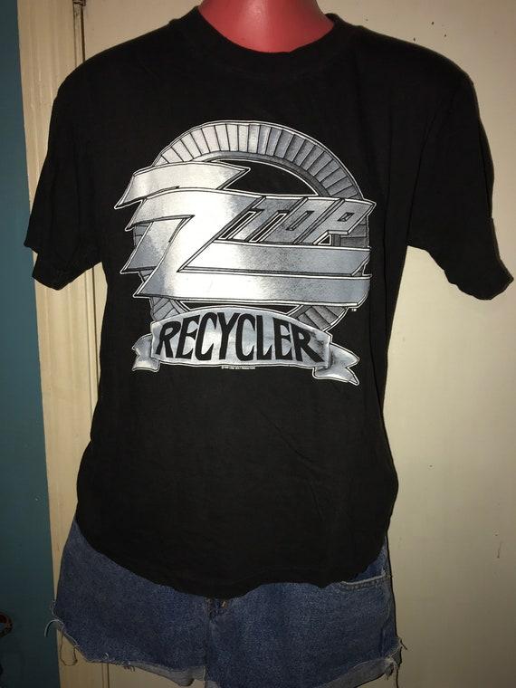 Vintage ZZ Top Concert Tshirt. ZZ Top 1991 Recycle