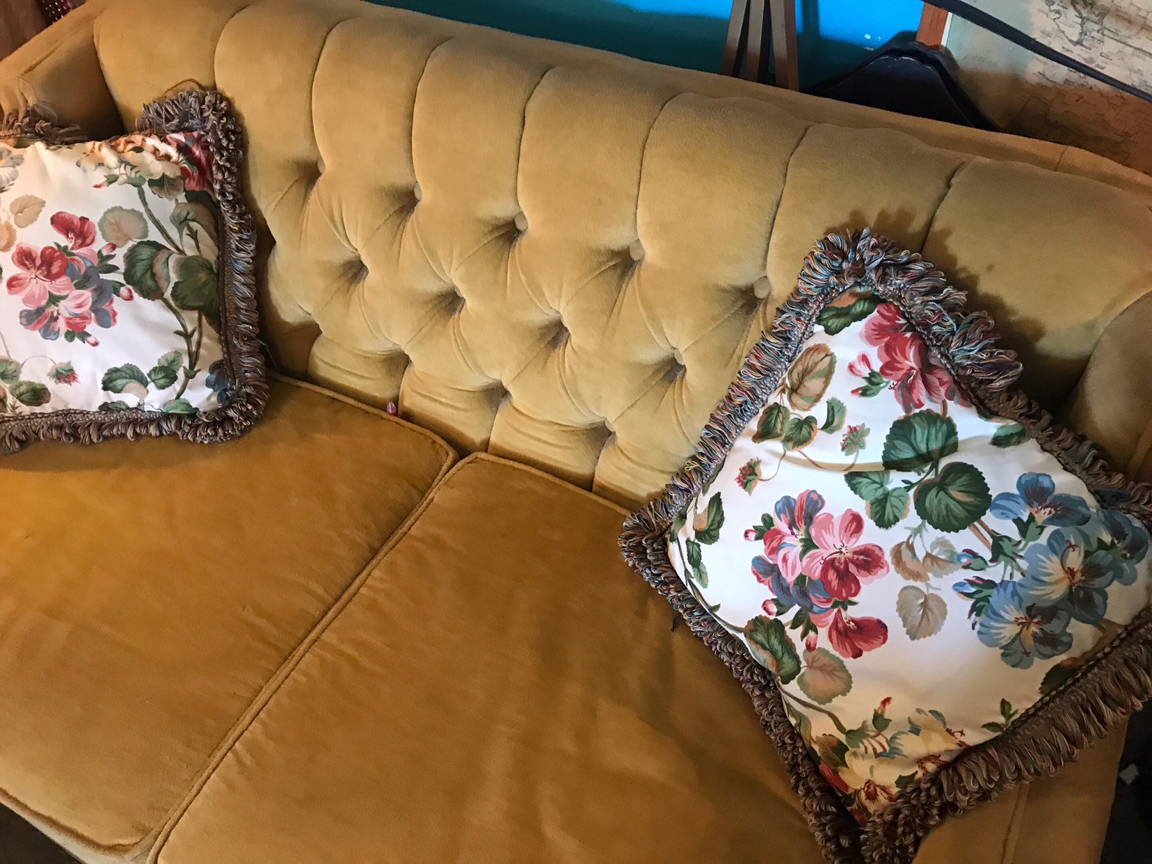 Remarkable Vintage Pillows Vintage Floral Pillow Set Small Couch Ocoug Best Dining Table And Chair Ideas Images Ocougorg