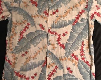 Vintage Hawaiian Shirt. Men's Hawaiian Shirt. Hawaiian Shirt. Vintage Shirt. Hawaii Shirt