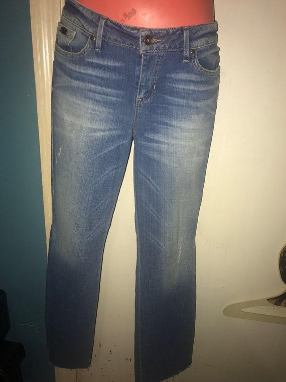 Vintage Guess Jeans. Low Rise Guess Jeans. Distres