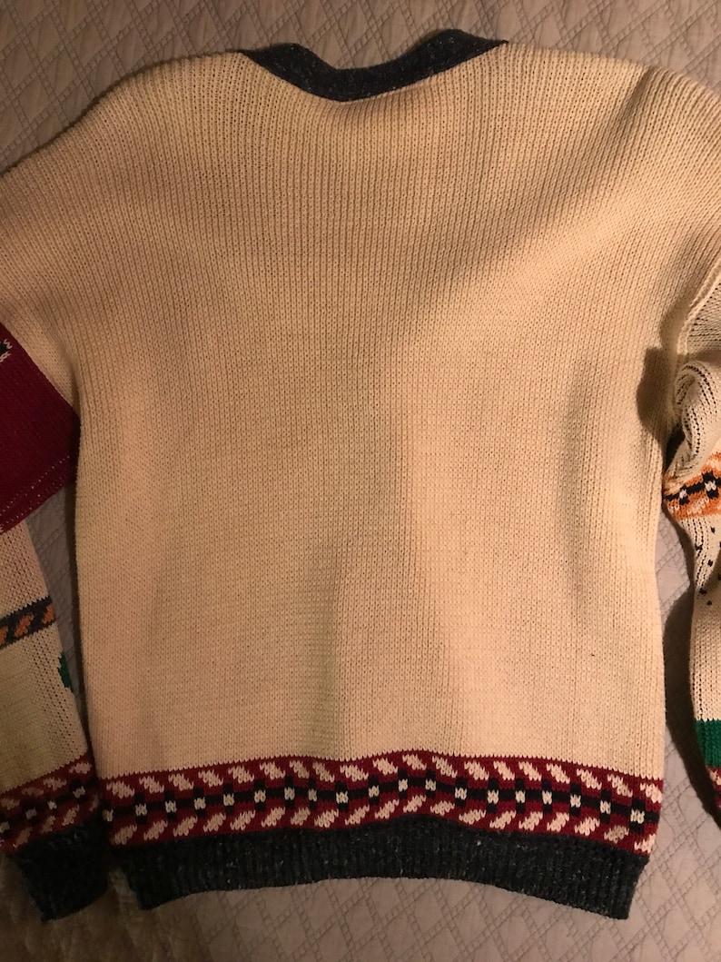 Texas Souvenir Sweater Ugly Sweater Texas Sweater Cardigan Sweater Vintage Ugly Sweater Texas Ugly Texas Sweater