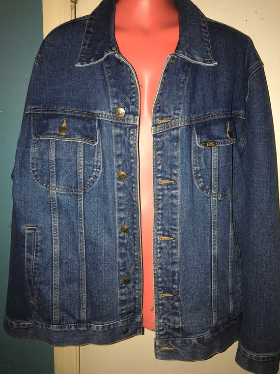 Vintage Lee Jean Jacket. Lee Jean Jacket. Lee Deni