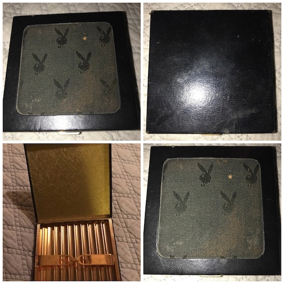 Vintage Playboy Bunny Signed Cigarette Case. Playb