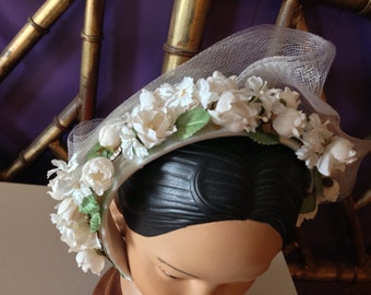 Vintage Hair Piece. Wedding. Hair Band. Child