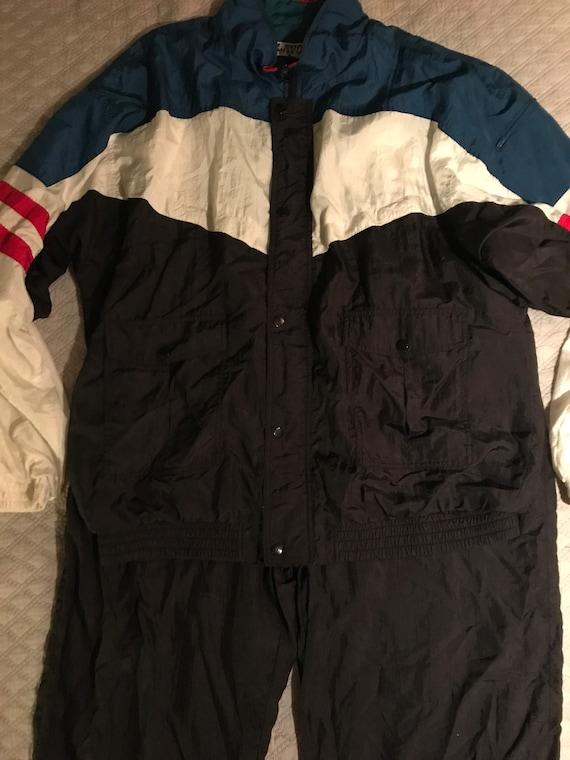 Vintage Windbreaker Track Suit. Windbreaker. 80's