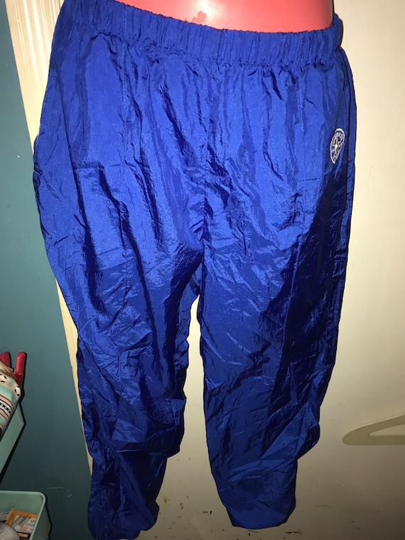 Vintage Converse Windbreaker Pants . Blue Windbrea